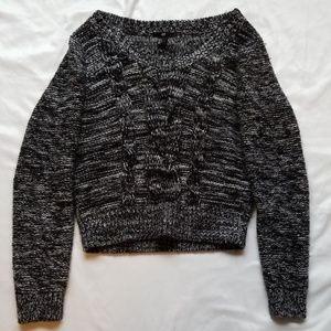 H&M Wide Neck Knit Sweater